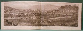 viewofathenswiththenewrailwaystationtheillustratedlondonnews1869